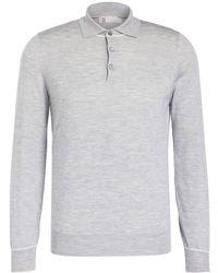 Brunello Cucinelli - Cashmere-Poloshirt - Lyst