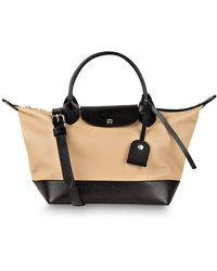 Longchamp Handtasche LE PLIAGE CUIR S - Mehrfarbig