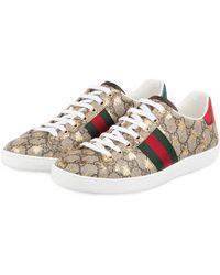 Gucci Sneaker NEW ACE - Natur