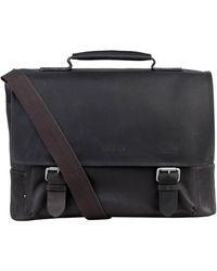 Strellson Business-Tasche TURNHAM mit Laptop-Fach - Schwarz