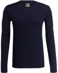 Icebreaker Funktionswäsche-Shirt 200 OASIS - Blau