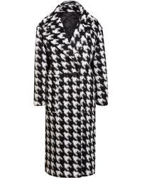 AllSaints - Oversized-Mantel EDA - Lyst
