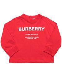 Burberry Sweatshirt - Rot