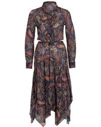 Maje Kleid RISTA - Mehrfarbig