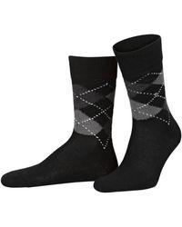 Burlington Socken PRESTON - Schwarz