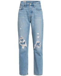 Levi's - 7/8-Jeans 501 CROP - Lyst