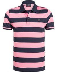 Paul & Shark Piqué-Poloshirt - Pink