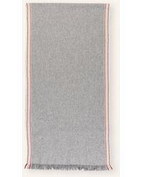 Brunello Cucinelli Cashmere-Schal - Grau
