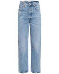 Levi's 7/8-Jeans RIBCAGE STRAIGHT ANKLE - Blau