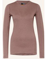 Icebreaker Funktionswäsche-Shirt 200 OASIS aus Merinowolle - Mehrfarbig