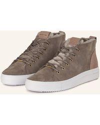 Blackstone Sneaker mit Lammfell - Mehrfarbig