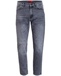 HUGO - Destroyed-Jeans 332 Slim Tapered Fit - Lyst