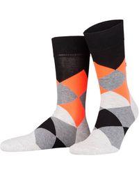 Burlington Socken NEON CLYDE - Schwarz
