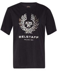 Belstaff T-Shirt PHOENIX - Schwarz