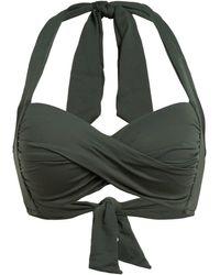Seafolly Bügel-Bikini-Top - Grün