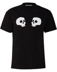 Palm Angels T-Shirt - Schwarz
