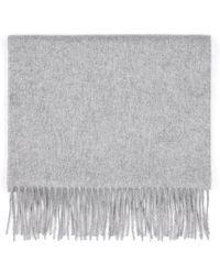 Brioni - Grey Scarf - Lyst