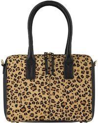 Brix + Bailey Leopard Print Hair On Hide Cross-body Grab Bag - Multicolour