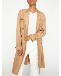 Brochu Walker The Sidney Trench Coat - Natural