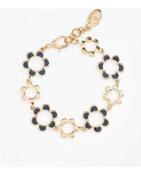 Brooks Brothers - Enameled Floral Bracelet - Lyst