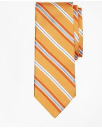 Brooks Brothers - Alternating Split Stripe Tie - Lyst