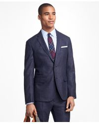 Brooks Brothers - Checked Wool Sport Coat - Lyst