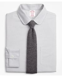 Brooks Brothers Brookscool Regular Classic-fit Dress Shirt - Gray