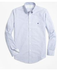 Brooks Brothers - Non-iron Milano Fit Supima® Cotton Oxford Sport Shirt - Lyst
