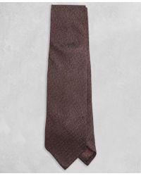 Brooks Brothers - Golden Fleece® Solid Brown Tie - Lyst