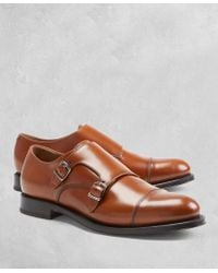 Brooks Brothers - Golden Fleece Double Monk Straps - Lyst