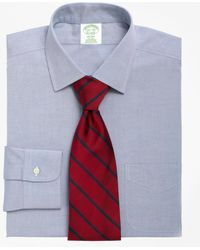 Brooks Brothers - Non-iron Milano Fit Spread Collar Dress Shirt - Lyst