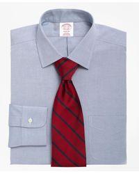 Brooks Brothers Madison Classic-fit Dress Shirt - Blue
