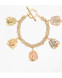Brooks Brothers - Rosebud Charm Bracelet - Lyst