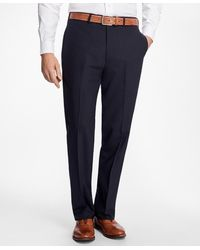 Brooks Brothers - Madison Fit Brookscool Houndstooth Trousers - Lyst