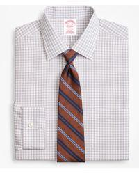 Brooks Brothers - Madison Classic-fit Dress Shirt, Non-iron Framed Windowpane - Lyst