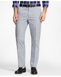 Brooks Brothers - Milano Fit Glen Plaid Advantage Chinos® - Lyst