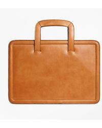 Brooks Brothers - Leather Briefcase - Lyst