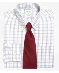 Brooks Brothers - Non-iron Milano Fit Windowpane Dress Shirt - Lyst