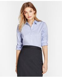Brooks Brothers - Nine-to-nine Stretch Cotton Pinpoint Oxford Shirt - Lyst