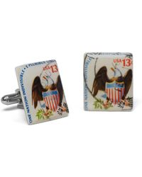 Brooks Brothers - 1975 Eagle Shield Stamp Cuff Links - Lyst