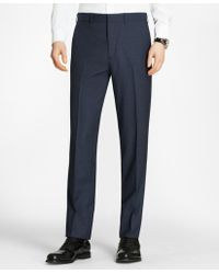 Brooks Brothers - Milano Fit Check Trousers - Lyst