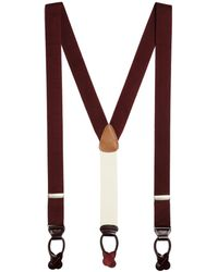 Brooks Brothers | Extra-long Solid Suspenders | Lyst