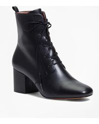 Brooks Brothers - Lace-up Leather Boots - Lyst