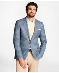 Brooks Brothers - Regent Fit Plaid Sport Coat - Lyst