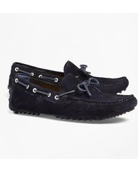 Brooks Brothers - Suede Driving Mocs - Lyst