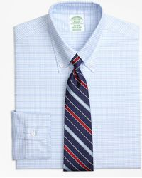 Brooks Brothers - Original Polo® Button-down Oxford Milano Slim-fit Dress Shirt, Plaid - Lyst