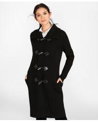Brooks Brothers - Merino Wool Milano-knit Sweater Coat - Lyst