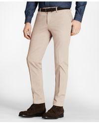 Brooks Brothers - Soho Fit Garment-dyed Stretch Cavalry Twill Chinos - Lyst