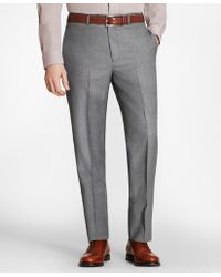 Brooks Brothers - Regent Fit Stretch Wool Trousers - Lyst