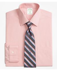 Brooks Brothers - Stretch Slim Fitted Dress Shirt - Lyst